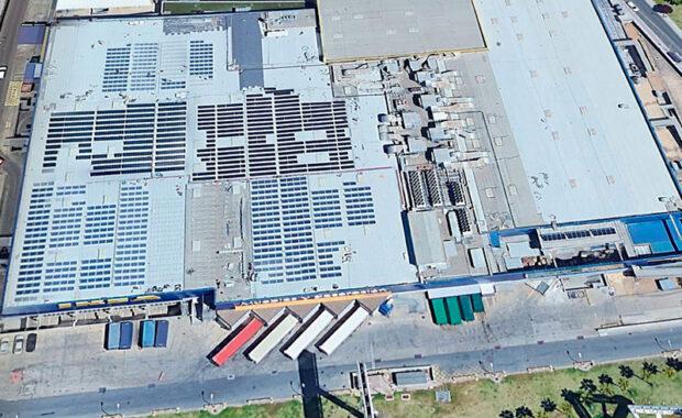 Centro Transformación para Planta Fotovoltaica en Centro Comercial Ikea (Sevilla)